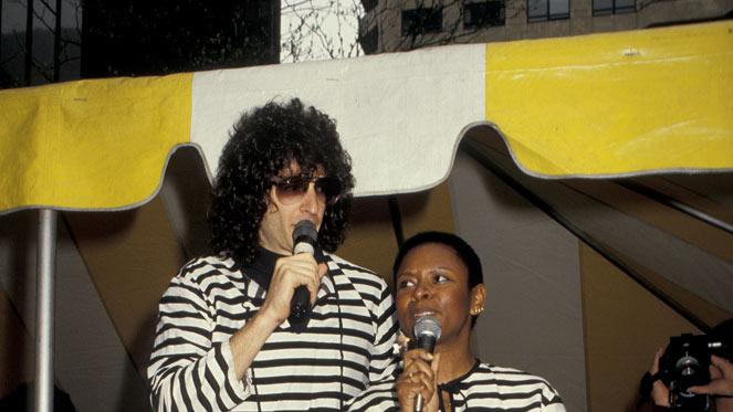 Howard Stern Through the Years