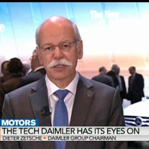 Zetsche: Autos to See Next Stage of Battery Technology