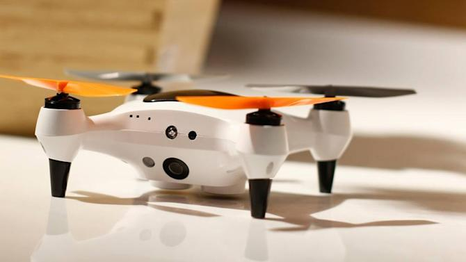Awesome tech you can't buy yet: Tiny camera drones, algae pens, and more