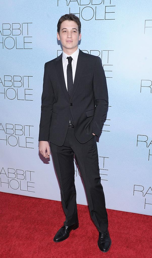 Rabbit Hole 2010 NYC Premiere Miles Teller