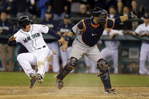 Mariners shut out Tigers 2-0