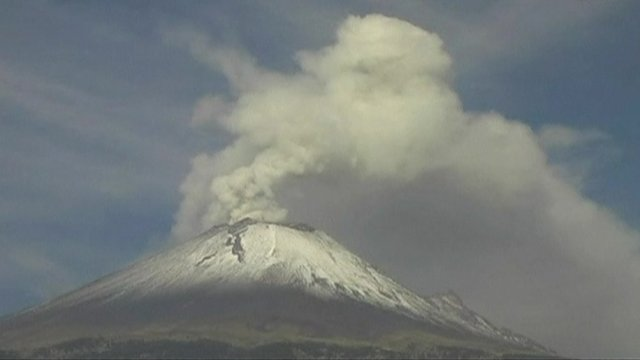 Residents on alert as Mexico's Popocatepetl continues erupting