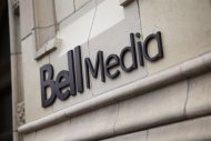 The Bell Media logo is displayed in Toronto. THE CANADIAN PRESS/HO, Bell Media - Darren Goldstein