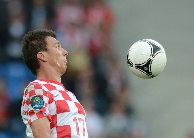 Croatian Forward Mario Mandzukic …