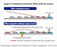 Honda&#39;s new system aims to smooth driving to reduce jams