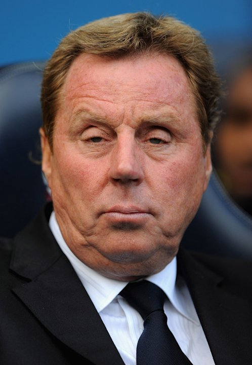 )  Harry Redknapp Of Spurs Looks Getty Images