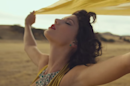 Taylor Swift hangs out with a giraffe in the video for Wildest Dreams