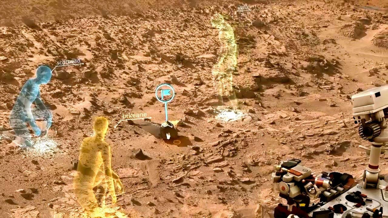 Microsoft HoloLens to create first 'manned' Mars mission