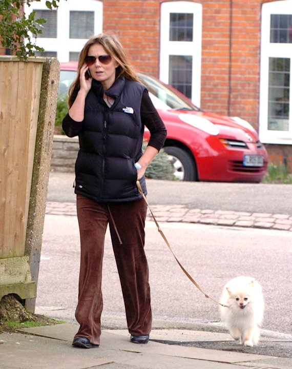 Halliwell Geri Walks Dog