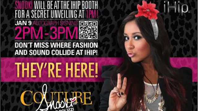Snooki Touts Line of Tech Gear