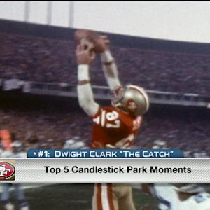 Dwight Clark remembers The Catch