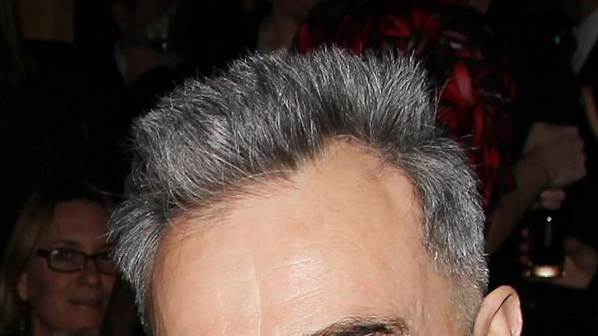 "This Jan. 7, 2013 photo released by Starpix shows actor Daniel Day Lewis from ""Lincoln,"" at the New York Film Critics Circle awards dinner at the Crimson Club in New York. (AP Photo/Starpix, Dave Allocca)"