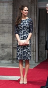 Kate Middleton Erdem dress