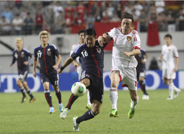 South Korea China Japan Soccer East Asian Cup