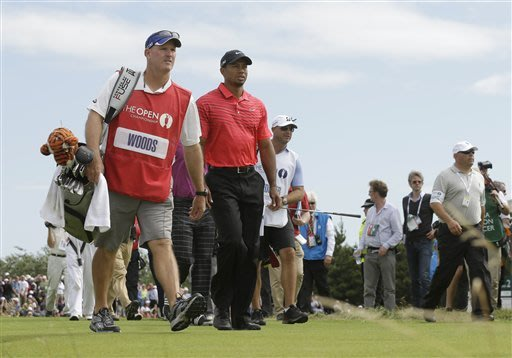 Column: Stubborn Woods blows British Open chance