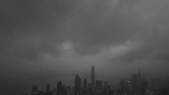Powerful typhoon strikes southern China; 21 dead