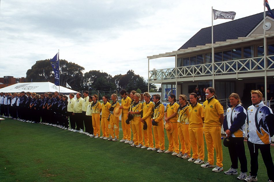 The Australian Women's cricket team lineup