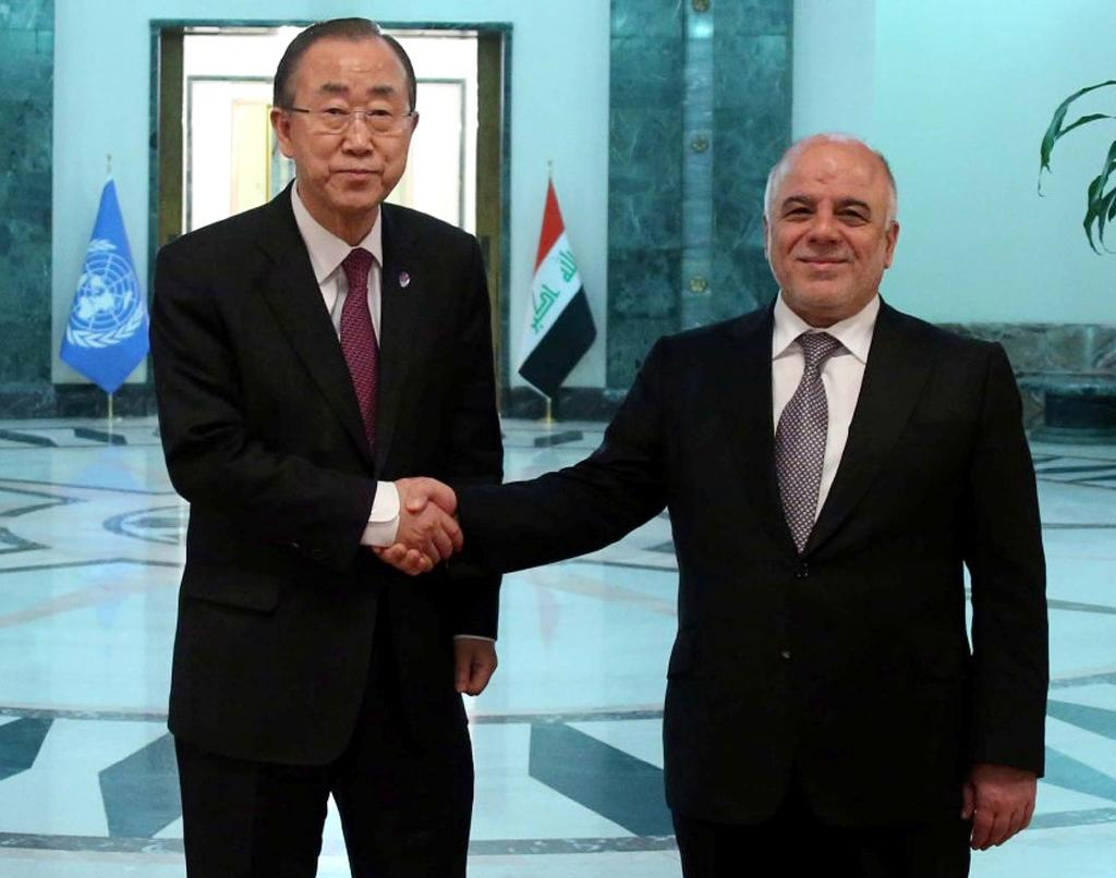UN chief Ban calls for more aid for Iraq displaced