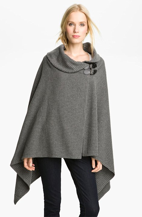 Ralph Lauren Buckle Poncho