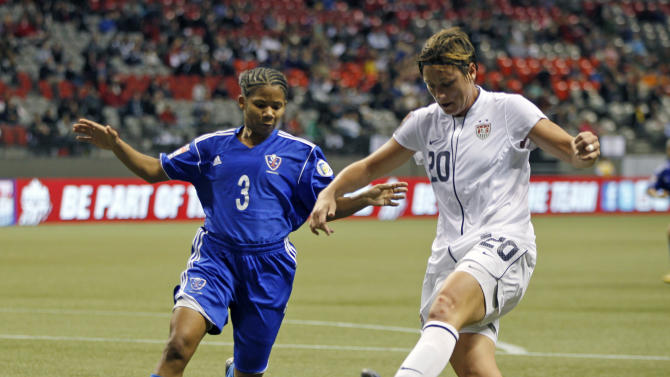 2012 CONCACAF Women's Olympic Qualifying - United States v Dominican Republic