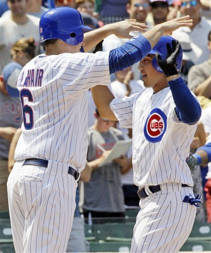 Barney, Garza lead Cubs over Diamondbacks 3-1