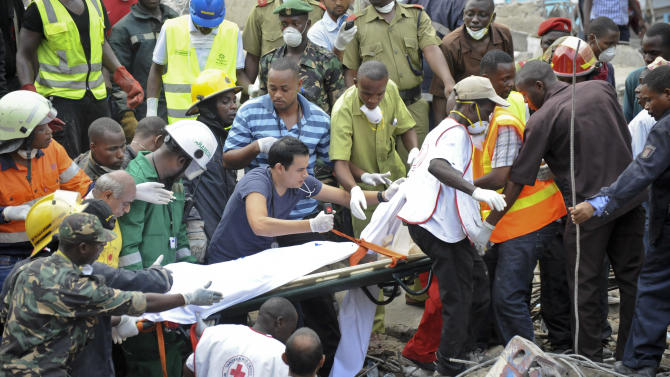 Death toll in Tanzania building collapse up to 30