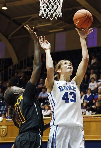 Vernerey leads No. 3 Duke past Iona, 100-31