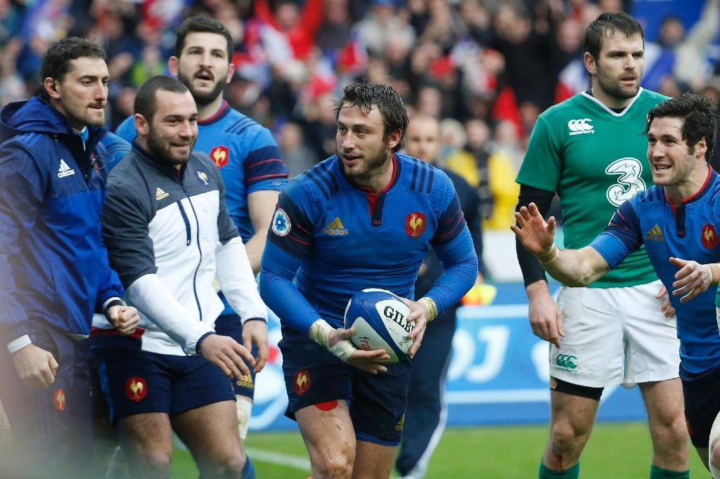 Late try by Medard helps France beat Ireland in Six Nations