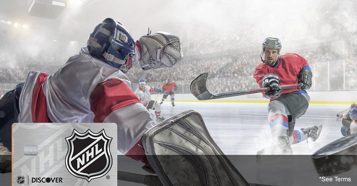 Score With The NHL® Discover it® Card
