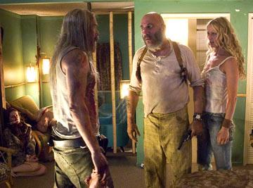 Bill Moseley, Sid Haig and Sheri Moon Zombie in Lions Gate Films' The Devil's Rejects