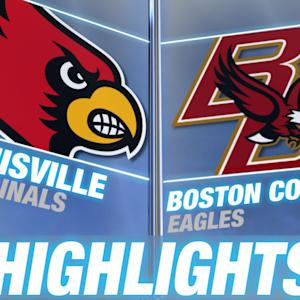 Louisville's Guards Pave Way to Road Win Over Boston College