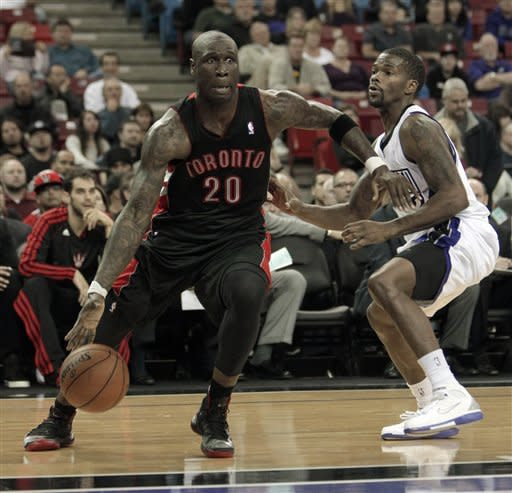 Cousins has 25 and 13, Kings beat Raptors 107-100