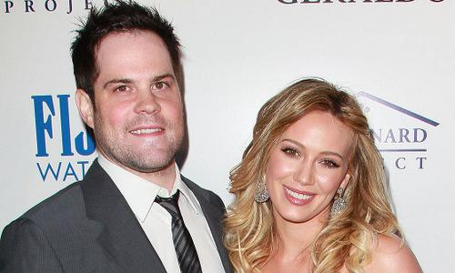 Hilary Duff and ex-husband Mike Comrie snap selfie together: 'Family First'