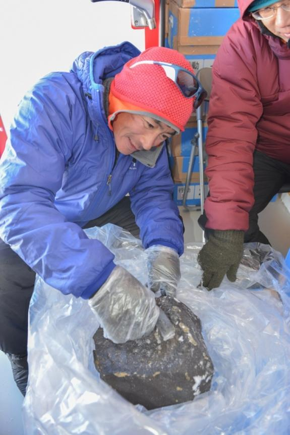 Big Meteorite Discovered in Antarctica