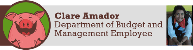 Clare Amador, Department of Budget and Management Employee