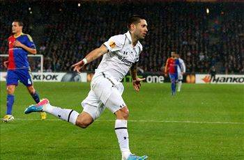 Dempsey scores twice but Tottenham knocked out of Europa League