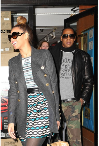 Beyonce dating and marrying Jay-Z
