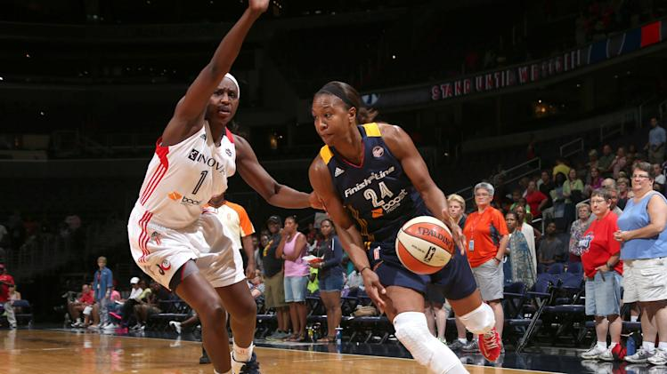 Catchings, Fever dump Mystics 65-52
