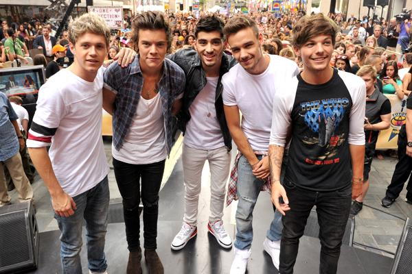 One Direction Announce Release Date for New Album, 'Midnight Memories'