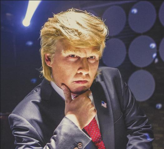 Johnny Depp stars as Donald Trump in Gloriously Absurd Funny or Die Movie
