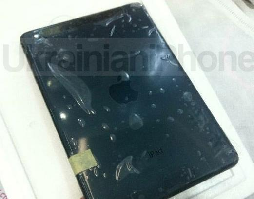 Leaked iPad mini parts show black anodized aluminum and nano-SIM card slot