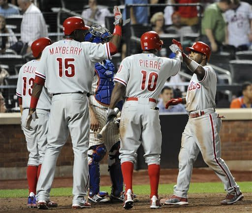 Ruiz, Phillies break out late to beat Mets 10-6