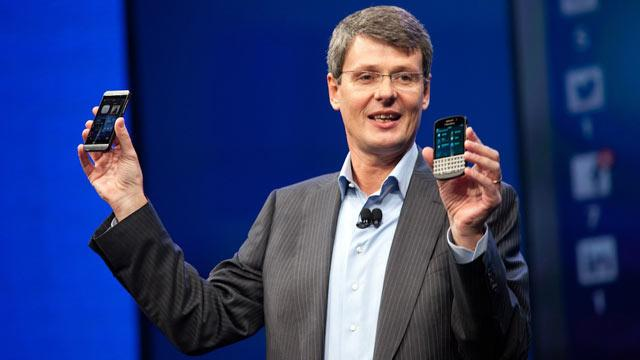 BlackBerry CEO Aims at Samsung and Apple with the Launch of BlackBerry Z10