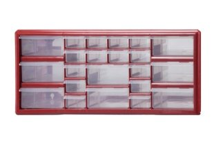 1. 22 Bin Plastic Storage Cabinet 