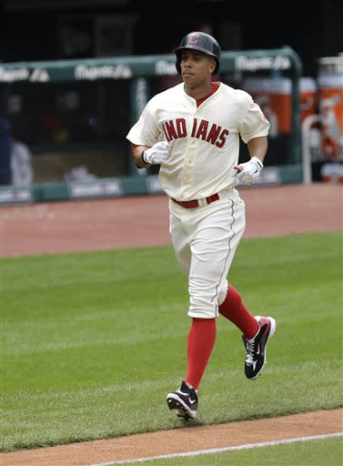 Brantley's 5 RBIs lift Indians past Tigers 9-6