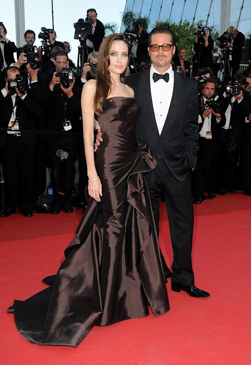 Cannes Film Festival 2011 Angelina Jolie Brad Pitt