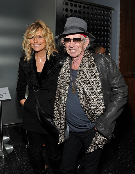 Patti Hansen & Keith Richards