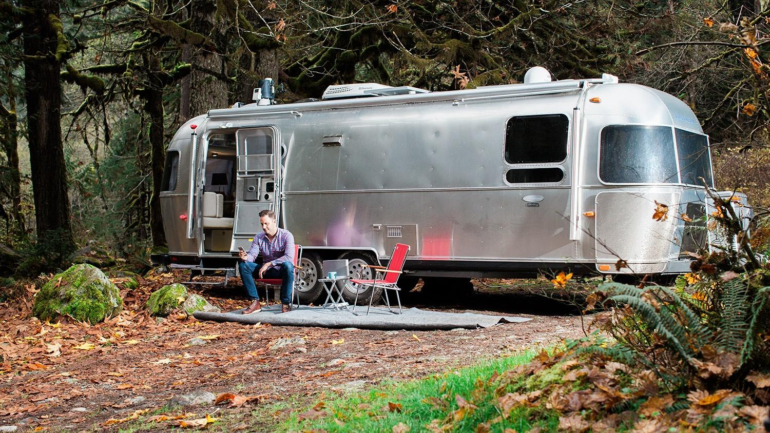 It may look retro, but this Airstream is probably smarter than your house
