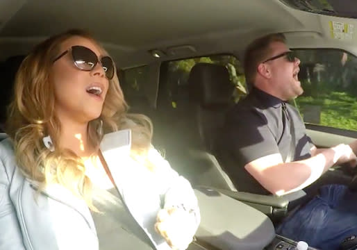 Mariah Carey Joins James Corden for Carpool Karaoke — Watch Video