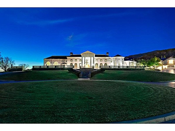 One tycoon is selling two of America's priciest mansions bradbury exterior